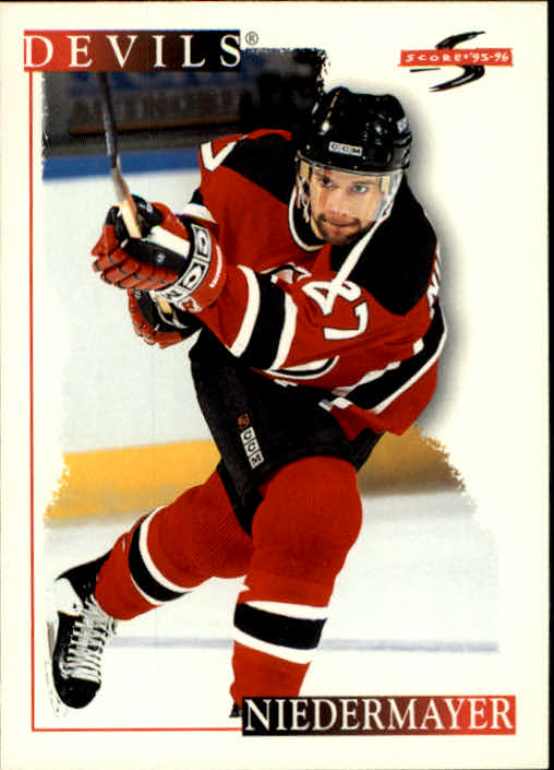 1995-96 Score #52 Scott Niedermayer