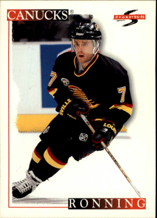 1995-96 Score #75 Cliff Ronning