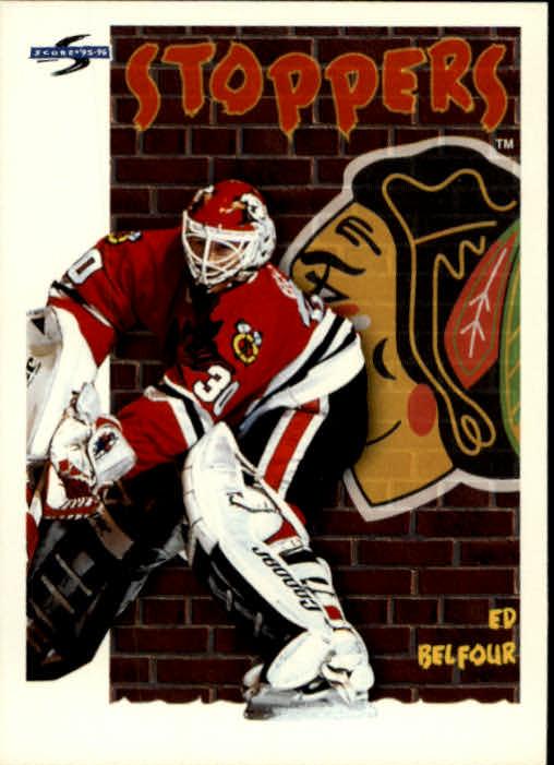 1995-96 Score #318 Ed Belfour ST