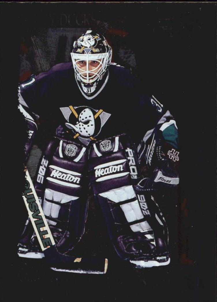 1995-96 Score Black Ice #94 Guy Hebert