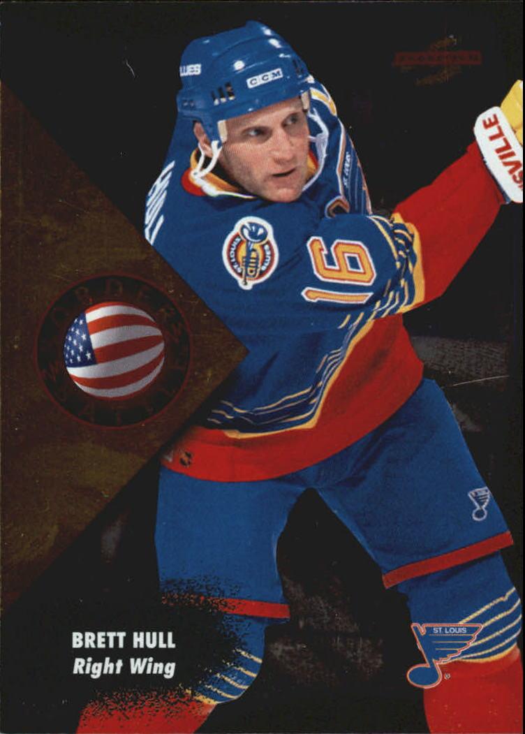 1995-96 Score Border Battle #6 Brett Hull