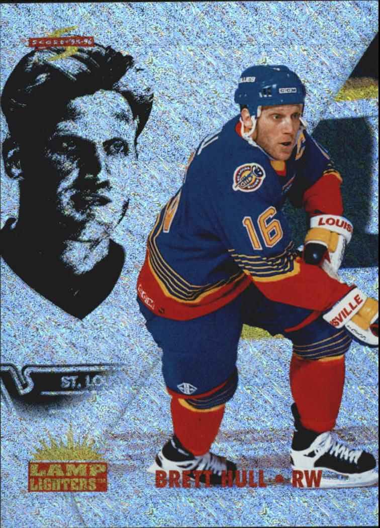 1995-96 Score Lamplighters #11 Brett Hull