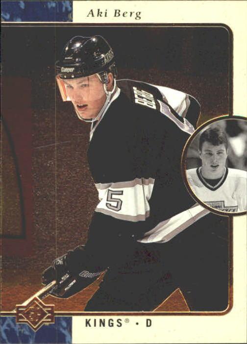 1995-96 SP #69 Aki Berg RC