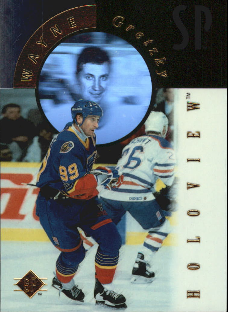 1995-96 SP Holoviews #FX10 Wayne Gretzky