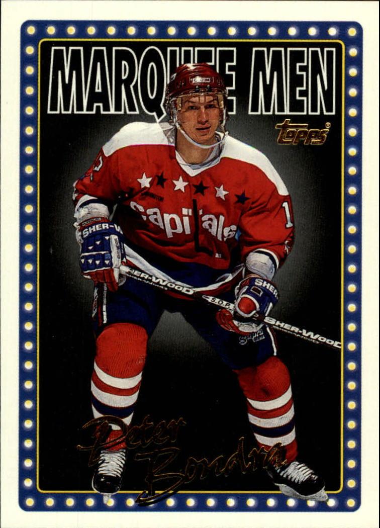 1995-96 Topps #6 Peter Bondra MM