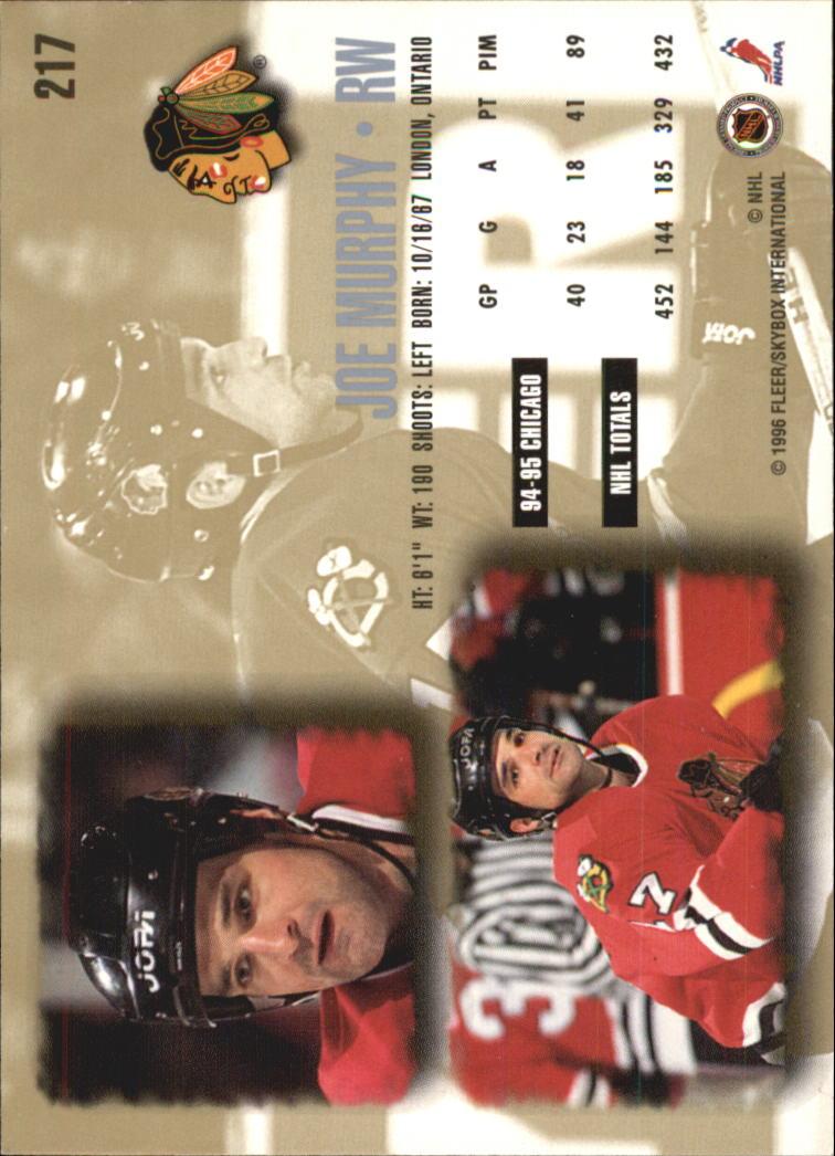 1995-96-Ultra-Hockey-Your-Choice-GOTBASEBALLCARDS thumbnail 56