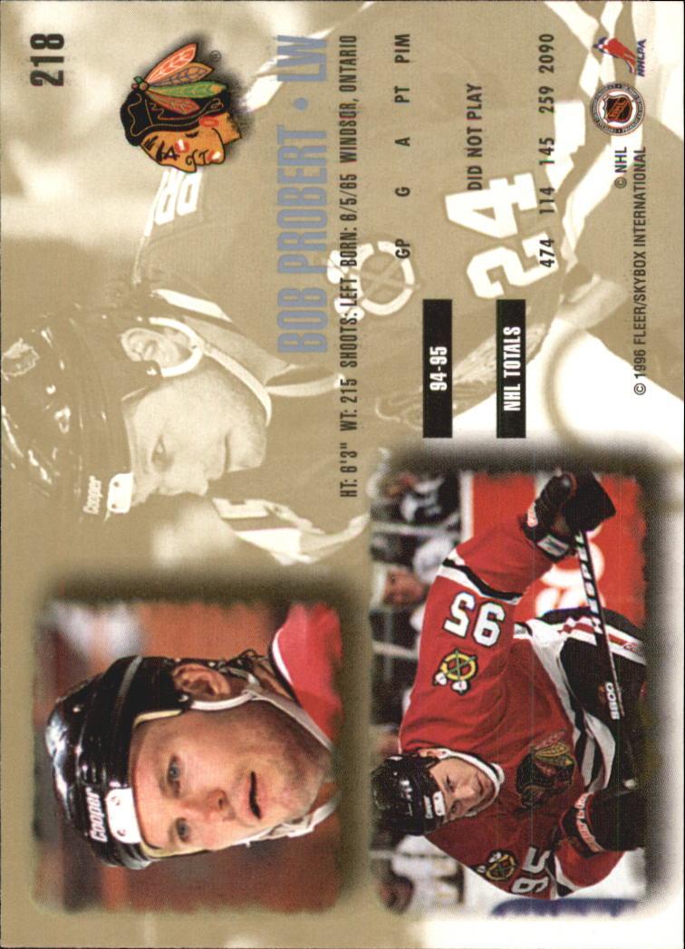 1995-96-Ultra-Hockey-Your-Choice-GOTBASEBALLCARDS thumbnail 58