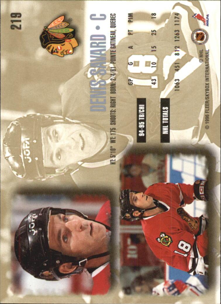 1995-96-Ultra-Hockey-Your-Choice-GOTBASEBALLCARDS thumbnail 60
