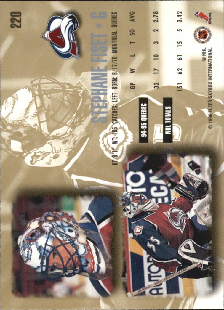 1995-96-Ultra-Hockey-Your-Choice-GOTBASEBALLCARDS thumbnail 62