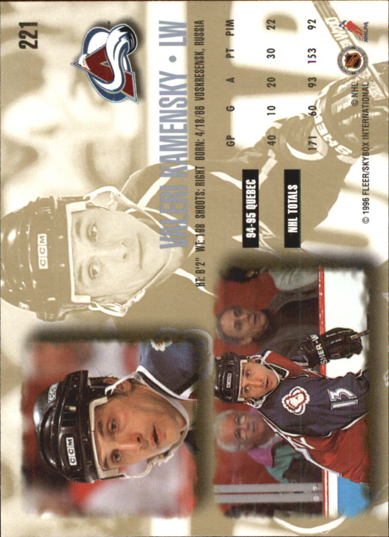 1995-96-Ultra-Hockey-Your-Choice-GOTBASEBALLCARDS thumbnail 64