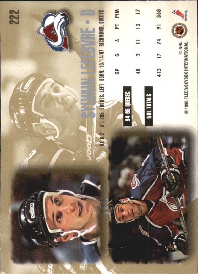 1995-96-Ultra-Hockey-Your-Choice-GOTBASEBALLCARDS thumbnail 66