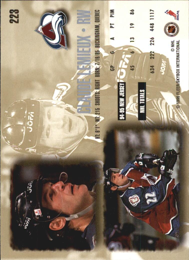1995-96-Ultra-Hockey-Your-Choice-GOTBASEBALLCARDS thumbnail 68