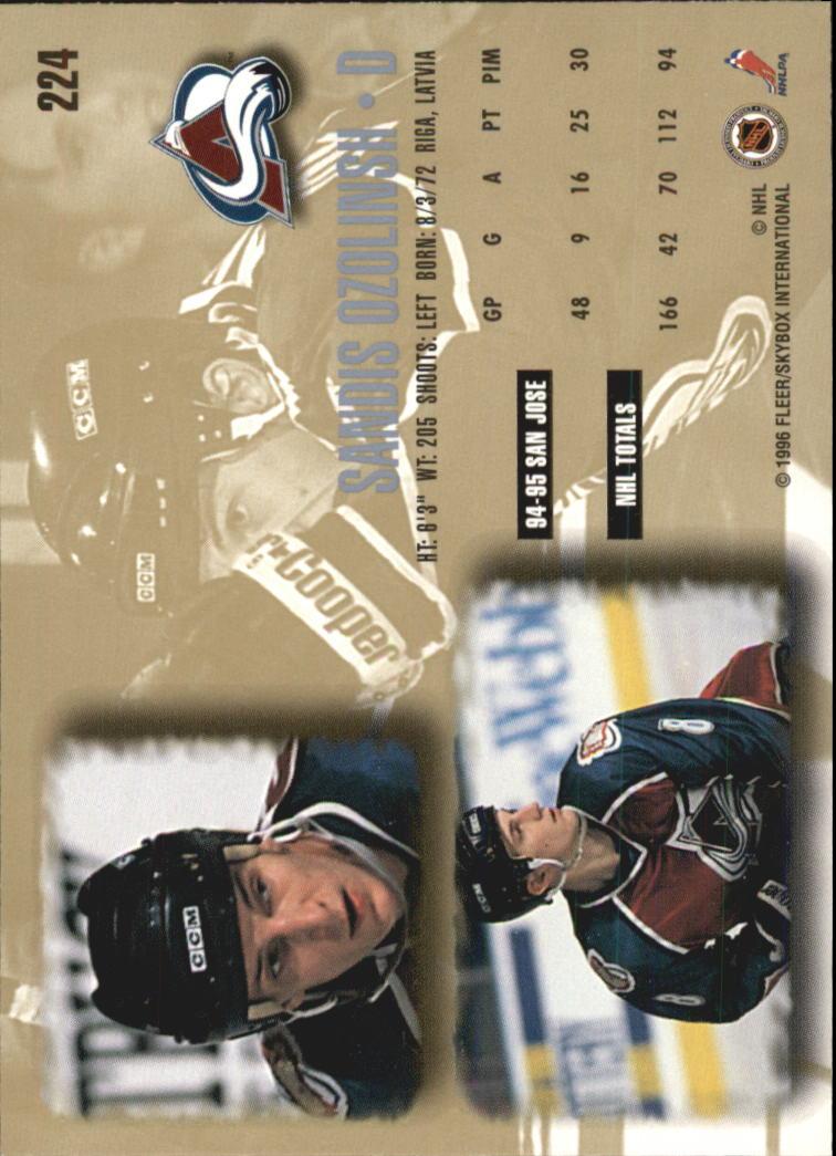 1995-96-Ultra-Hockey-Your-Choice-GOTBASEBALLCARDS thumbnail 70