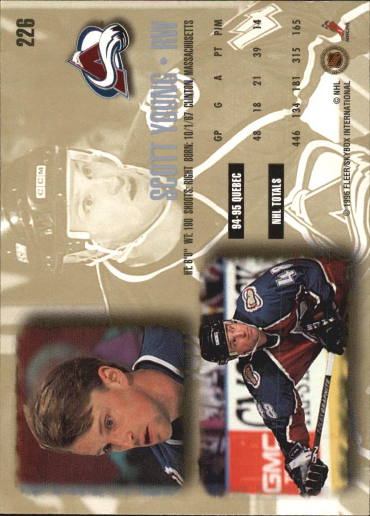 1995-96-Ultra-Hockey-Your-Choice-GOTBASEBALLCARDS thumbnail 74