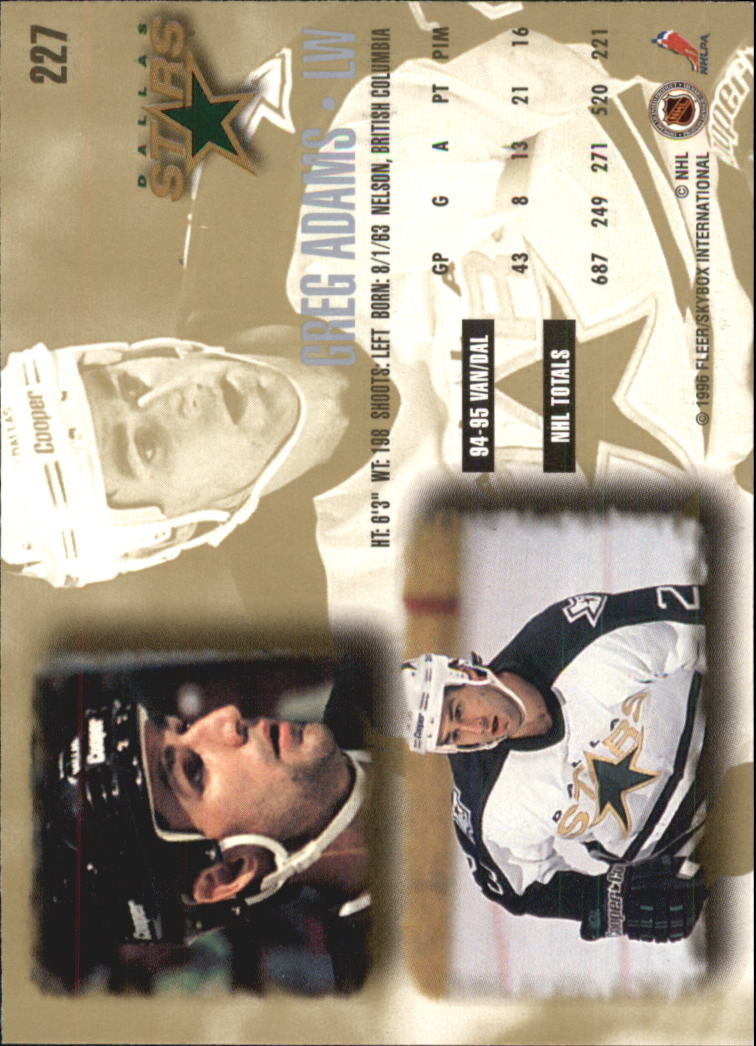 1995-96-Ultra-Hockey-Your-Choice-GOTBASEBALLCARDS thumbnail 76