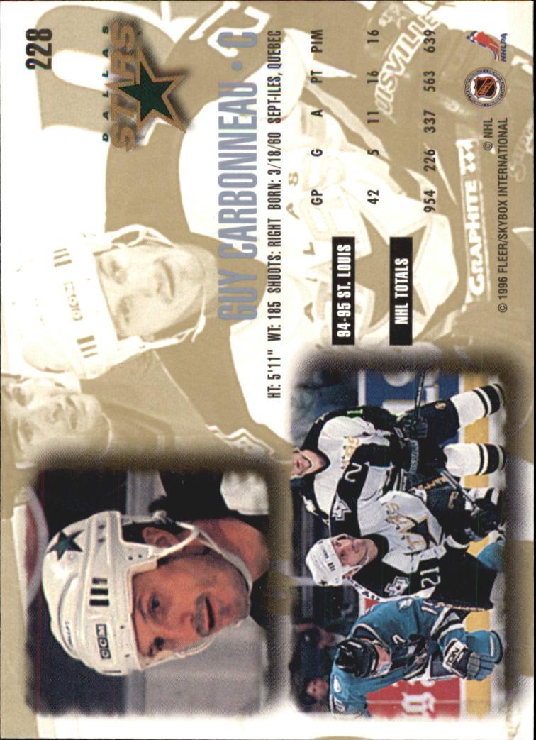 1995-96-Ultra-Hockey-Your-Choice-GOTBASEBALLCARDS thumbnail 78