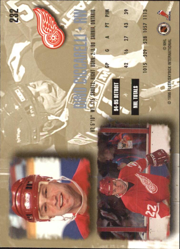 1995-96-Ultra-Hockey-Your-Choice-GOTBASEBALLCARDS thumbnail 84
