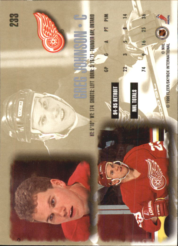 1995-96-Ultra-Hockey-Your-Choice-GOTBASEBALLCARDS thumbnail 86