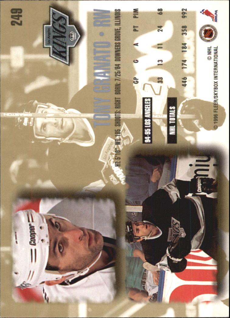 1995-96-Ultra-Hockey-Your-Choice-GOTBASEBALLCARDS thumbnail 116
