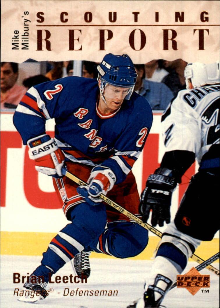 1995-96 Upper Deck #236 Brian Leetch
