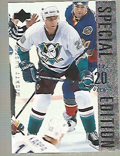1995-96 Upper Deck Special Edition #SE92 Steve Rucchin