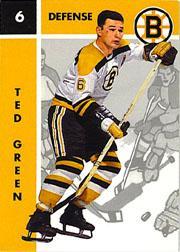 1995-96 Parkhurst '66-67 #6 Ted Green
