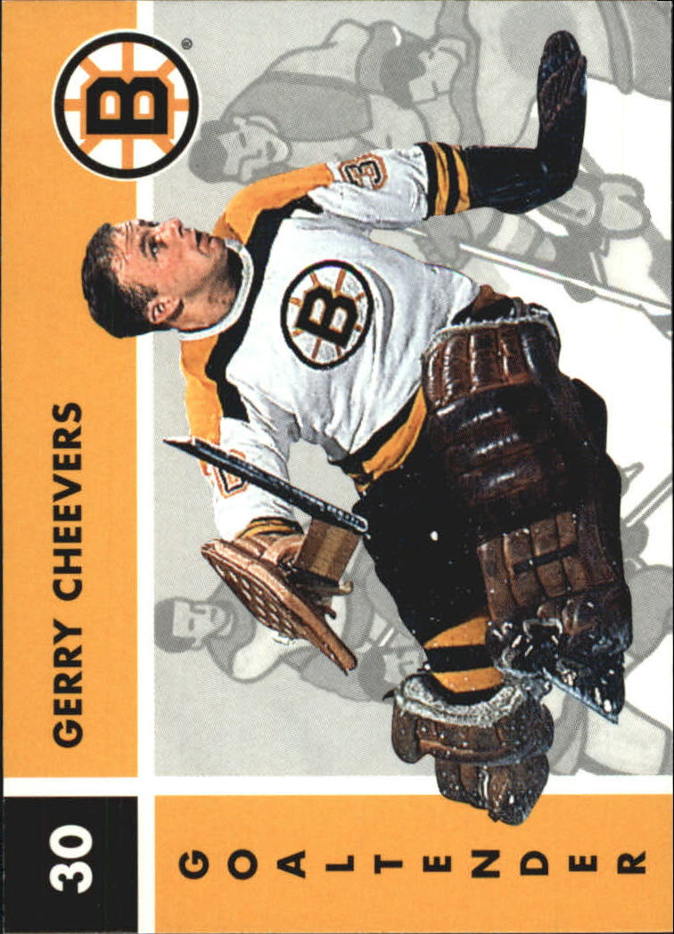 1995-96 Parkhurst '66-67 #16 Gerry Cheevers