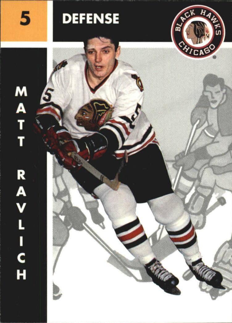 1995-96 Parkhurst '66-67 #22 Matt Ravlich