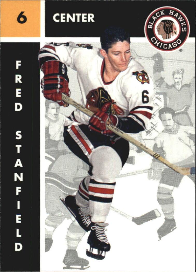 1995-96 Parkhurst '66-67 #25 Fred Stanfield