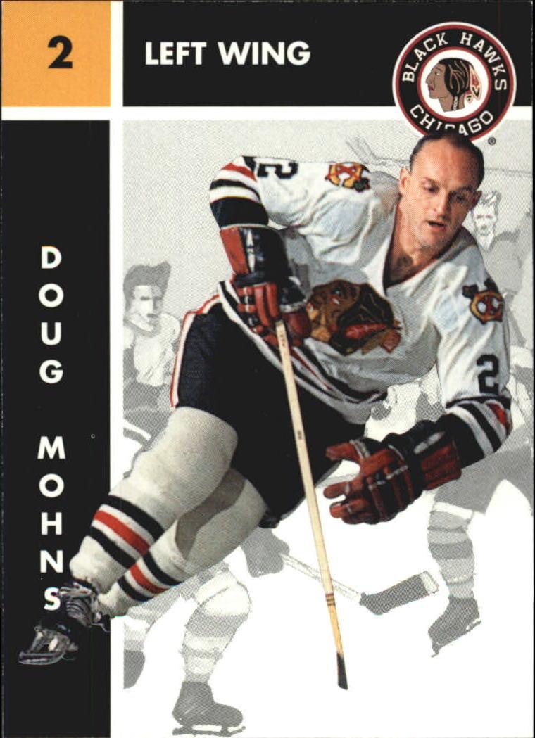 1995-96 Parkhurst '66-67 #35 Doug Mohns