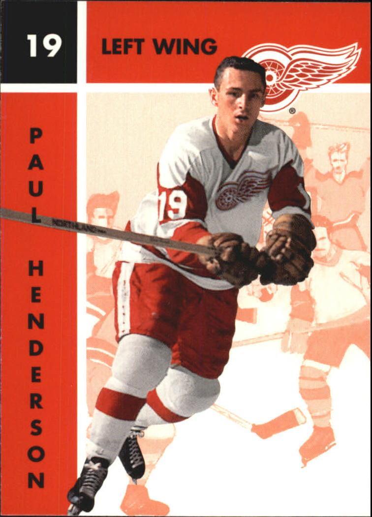 1995-96 Parkhurst '66-67 #40 Paul Henderson