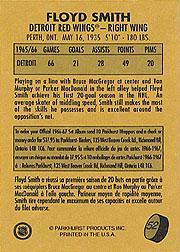 1995-96 Parkhurst '66-67 #52 Floyd Smith back image