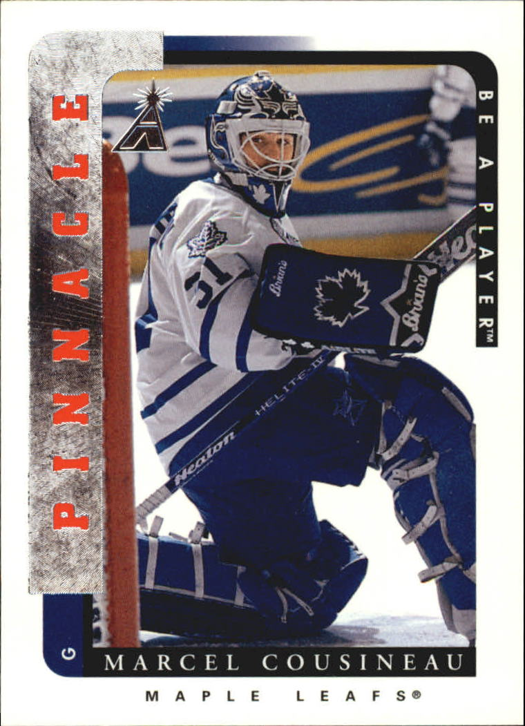 1996-97 Be A Player #213 Marcel Cousineau RC