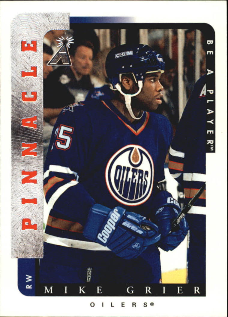 1996-97 Be A Player #220 Mike Grier RC