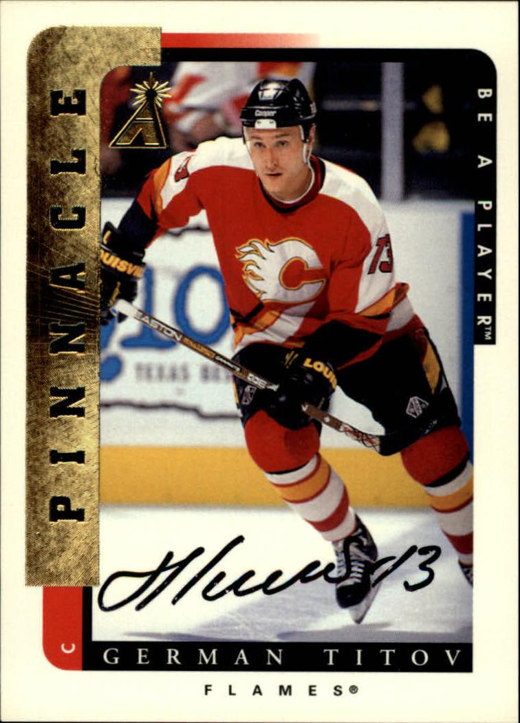 1996-97 Be A Player Autographs #49 German Titov