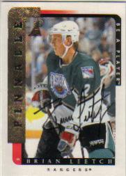 1996-97 Be A Player Autographs #55 Brian Leetch