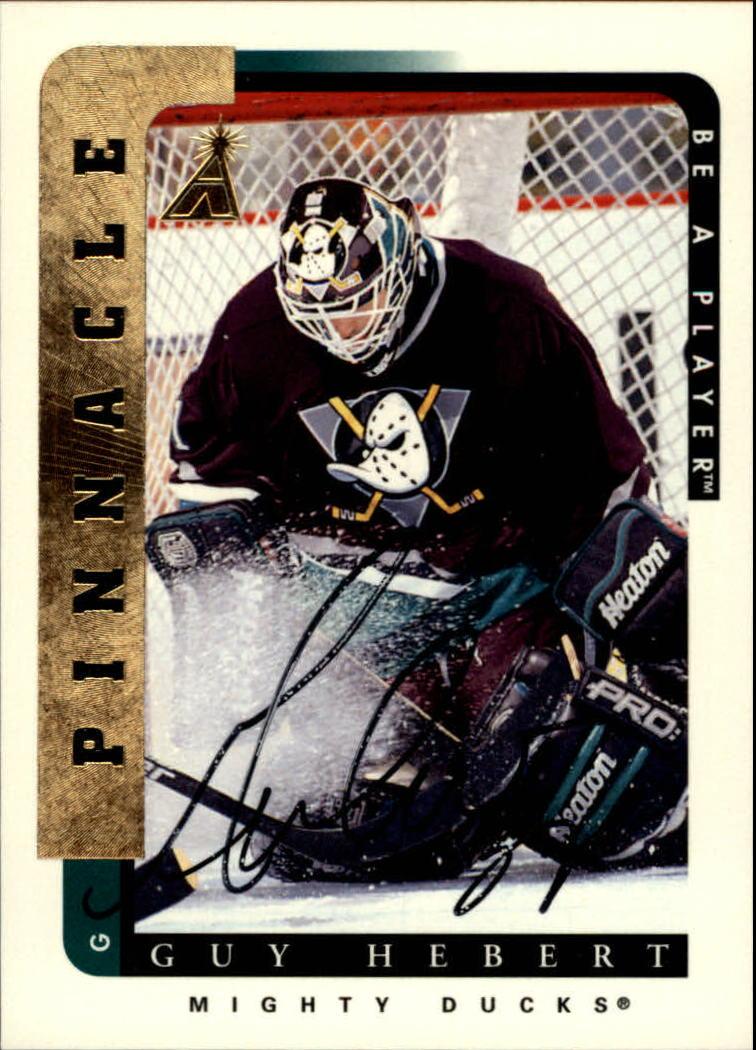 1996-97 Be A Player Autographs #61 Guy Hebert