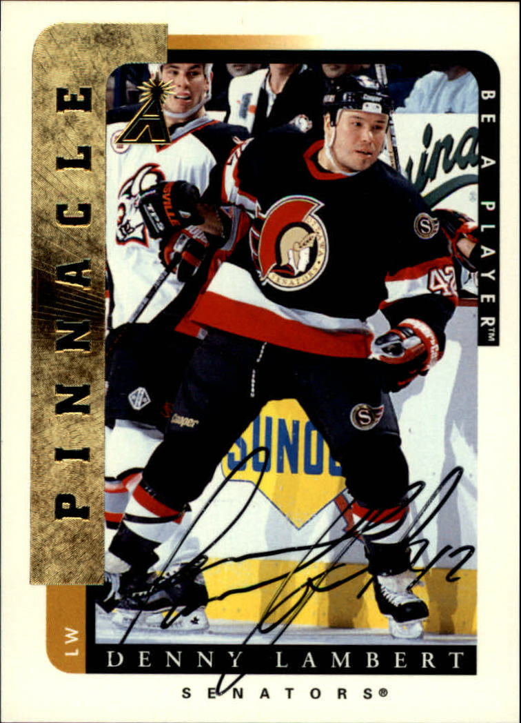 1996-97 Be A Player Autographs #68 Denny Lambert