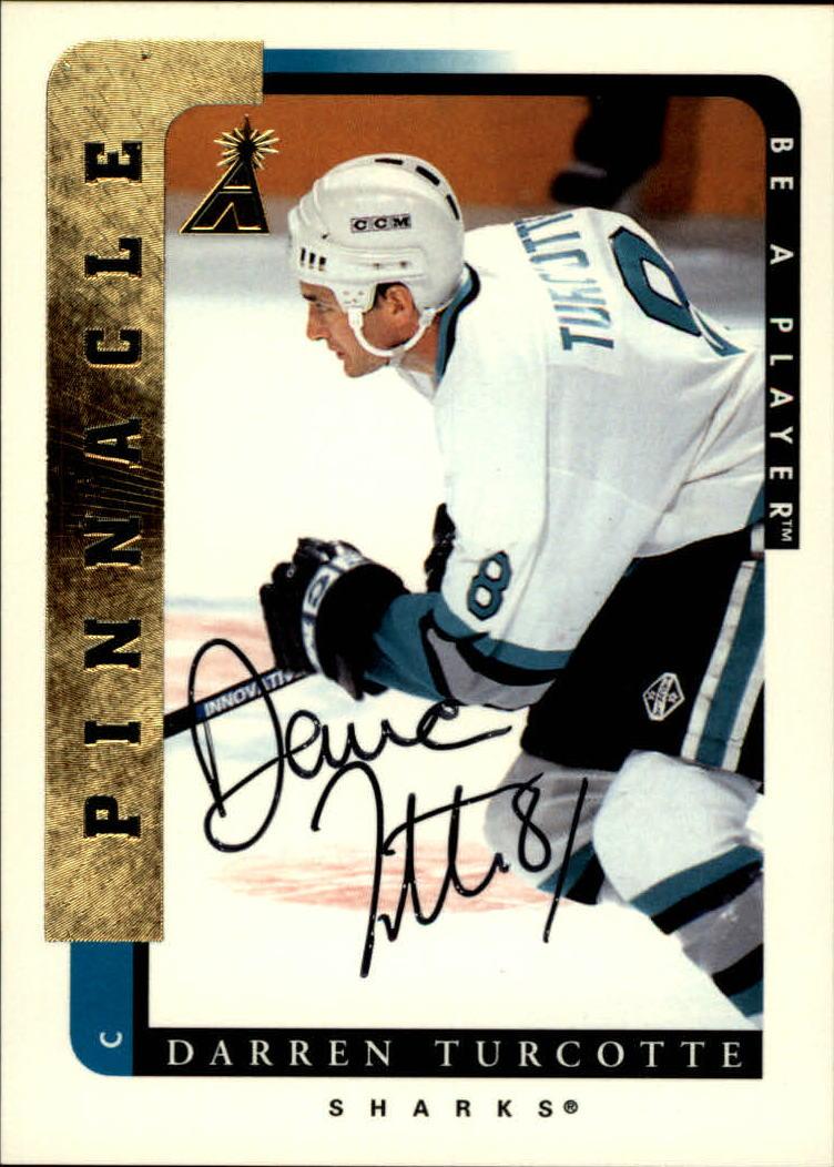 1996-97 Be A Player Autographs #70 Darren Turcotte