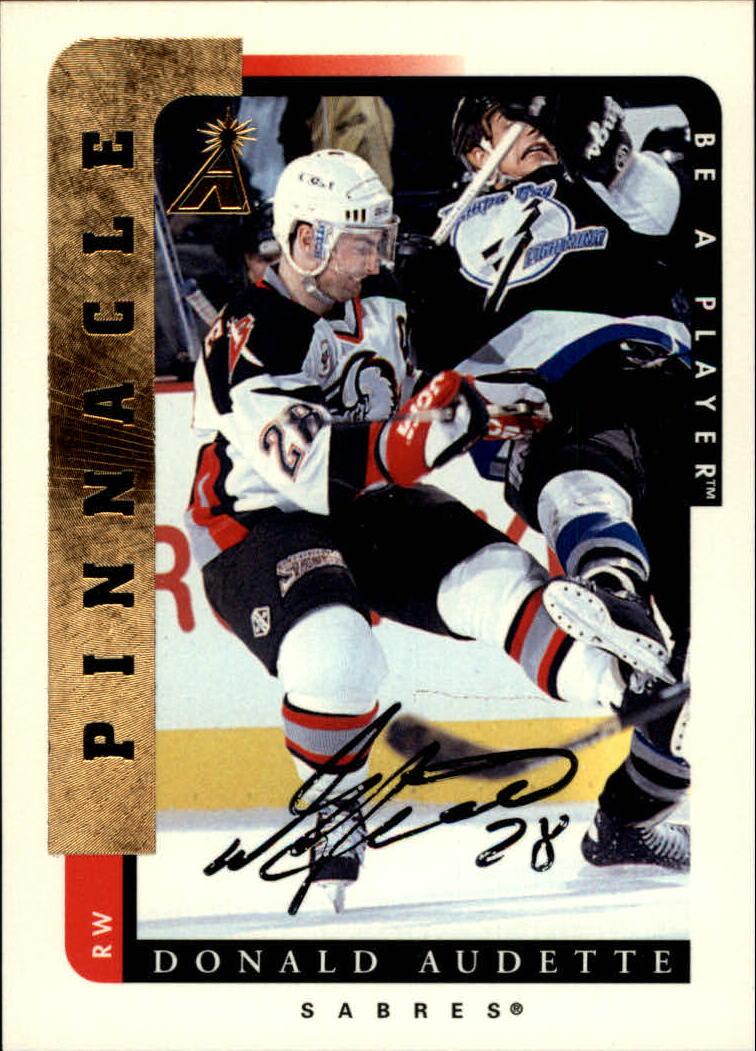1996-97 Be A Player Autographs #73 Donald Audette