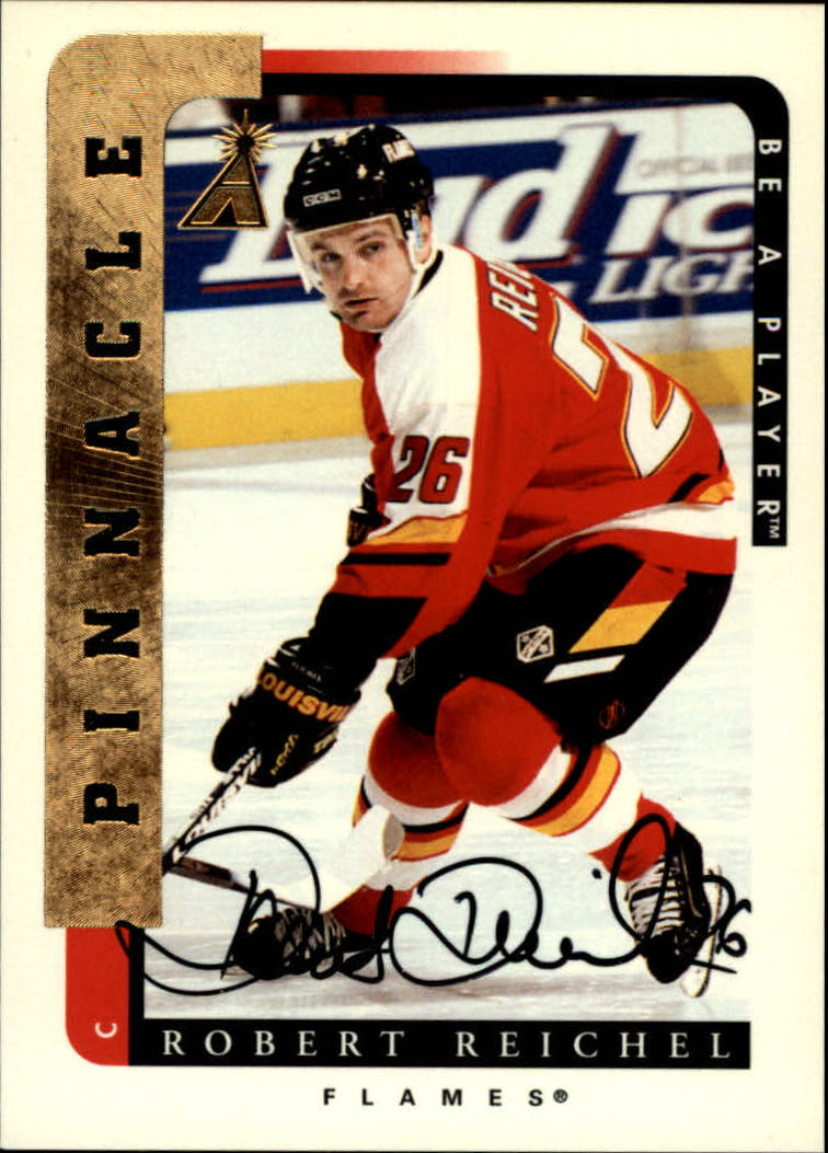 1996-97 Be A Player Autographs #81 Robert Reichel