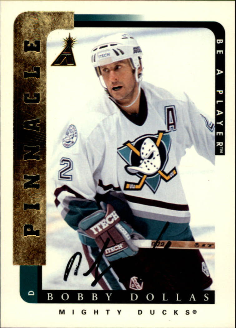 1996-97 Be A Player Autographs #96 Bobby Dollas