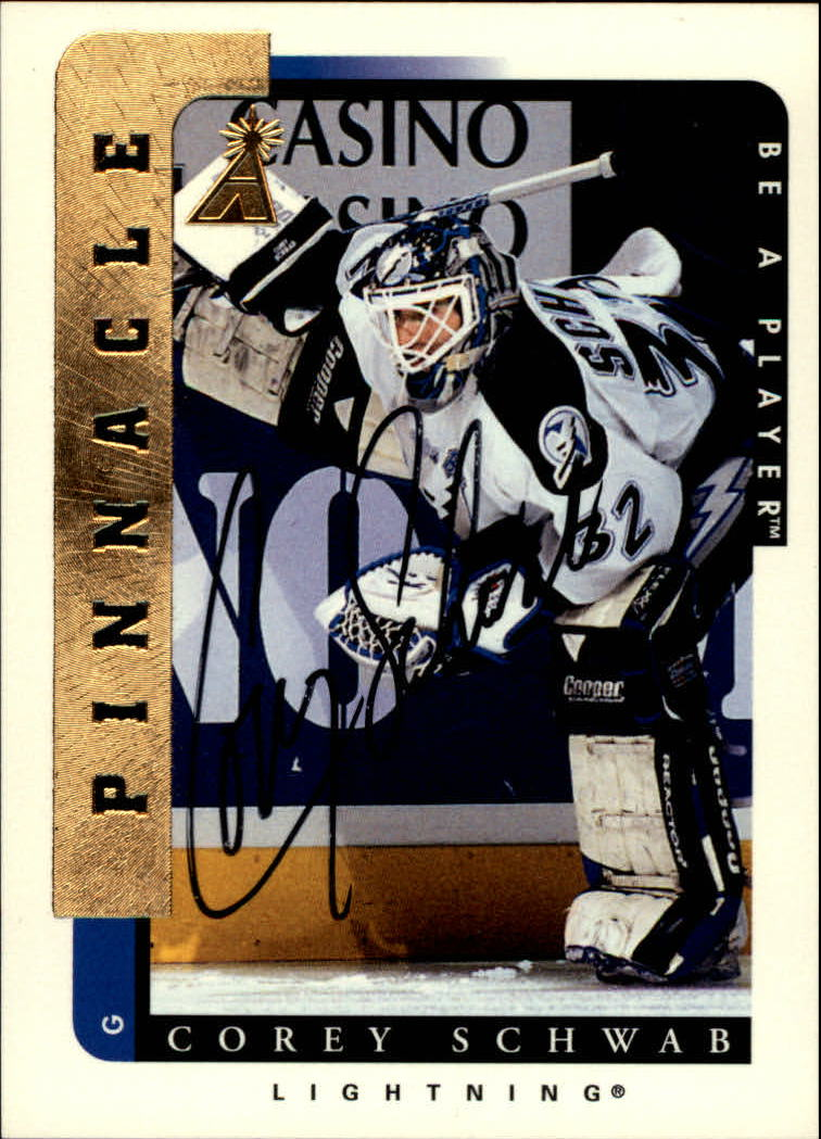 1996-97 Be A Player Autographs #104 Corey Schwab