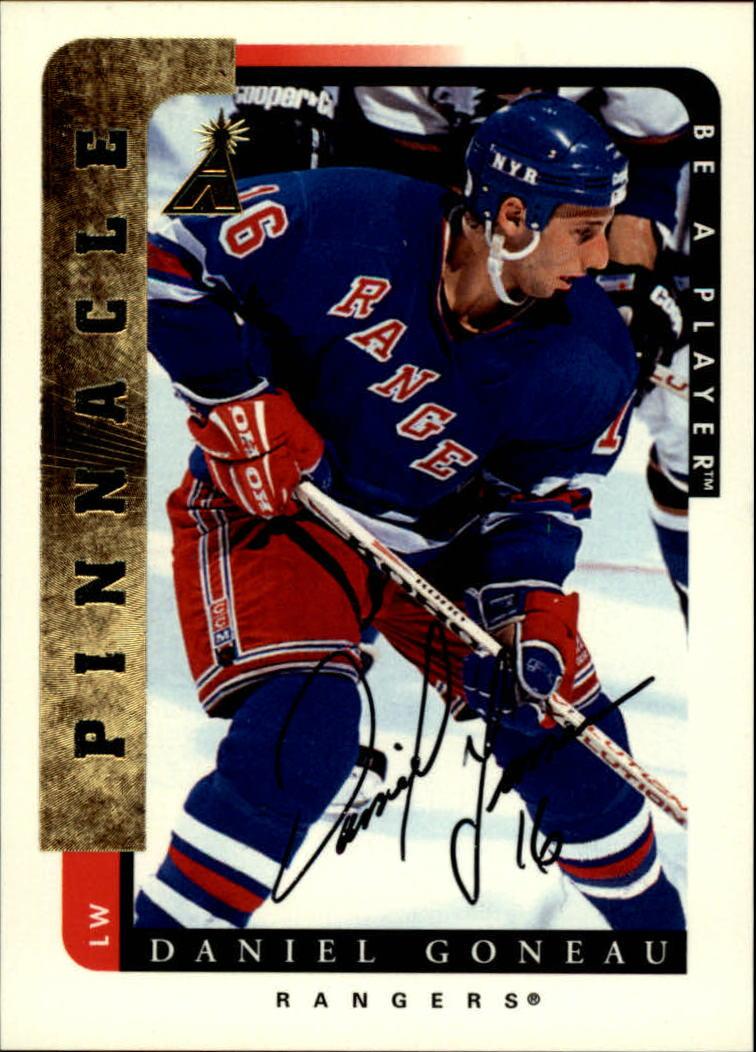 1996-97 Be A Player Autographs #107 Daniel Goneau