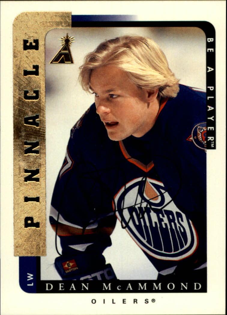 1996-97 Be A Player Autographs #126 Dean McAmmond