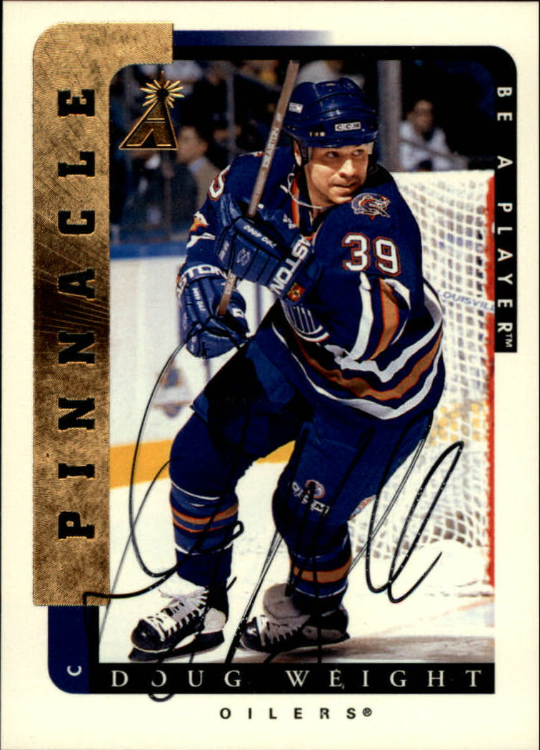 1996-97 Be A Player Autographs #174 Doug Weight
