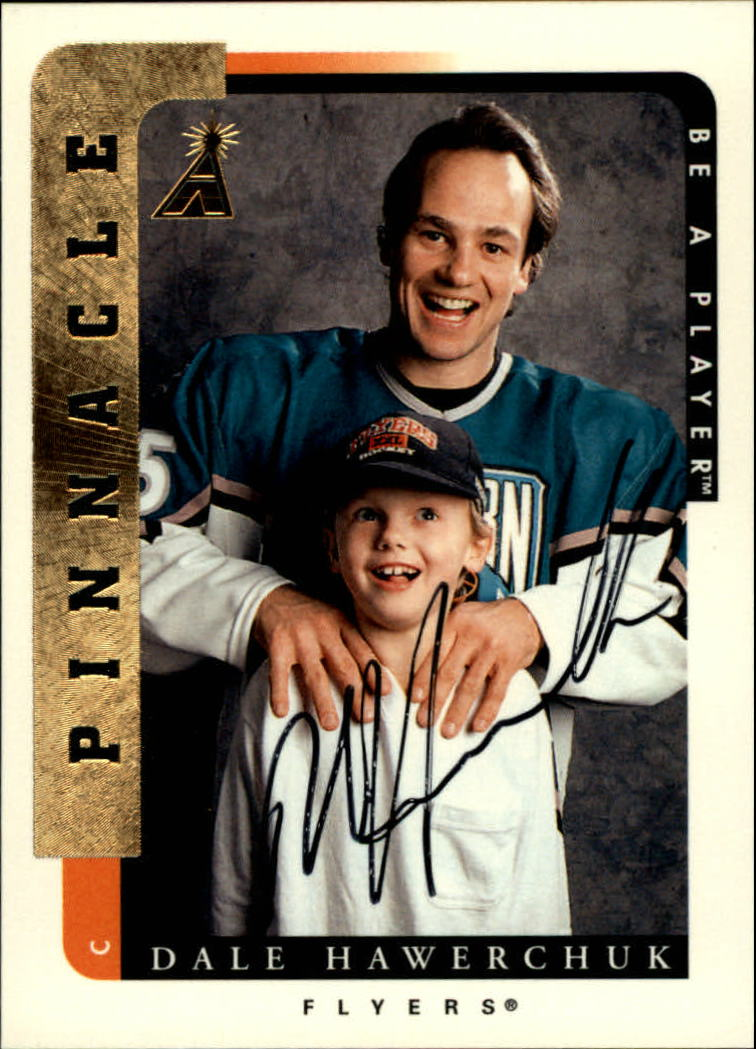 1996-97 Be A Player Autographs #203 Dale Hawerchuk