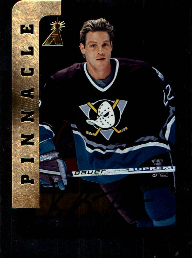 1996-97 Be A Player Autographs Silver #32 Ken Baumgartner