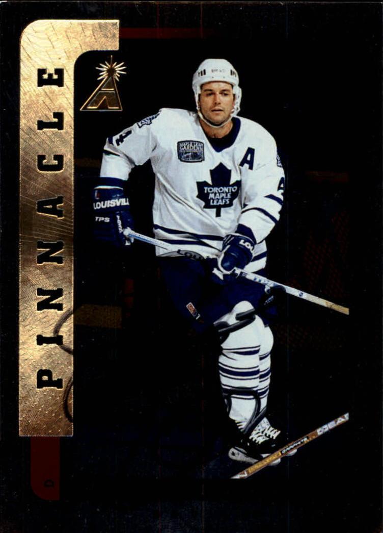 1996-97 Be A Player Autographs Silver #177 Dave Ellett