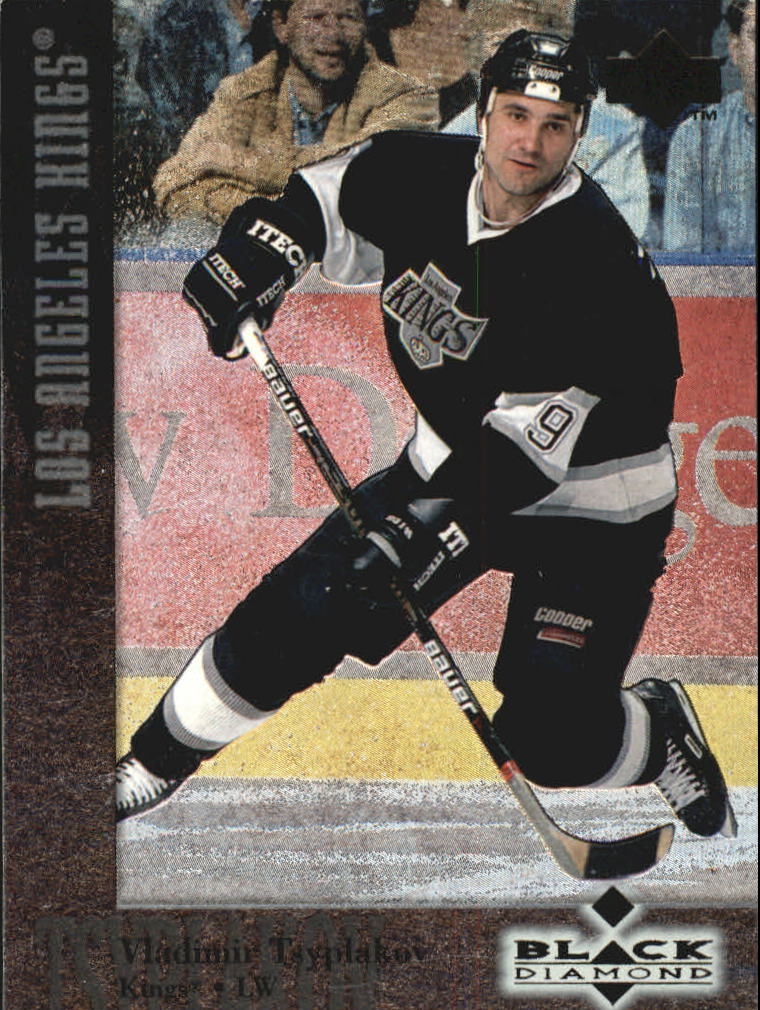 1996-97 Black Diamond #8 Vladimir Tsyplakov RC
